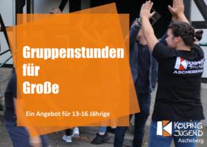 Gruppenstunde für Große @ Pfarrheim St.Lambertus