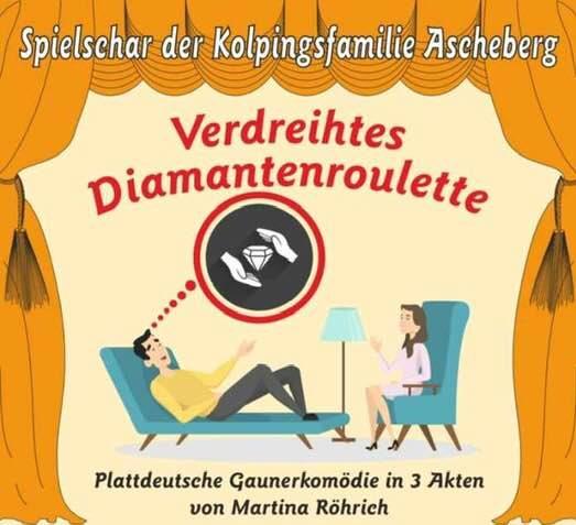 Verdreihtes Diamantenroulette @ Pfarrheim St.Lambertus