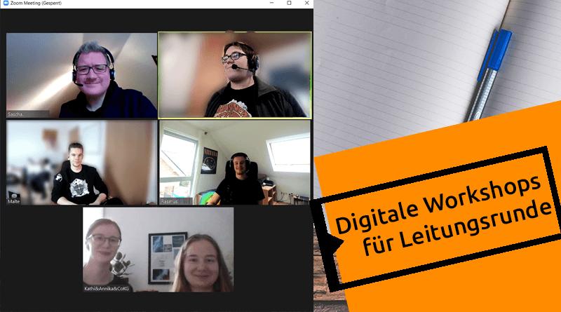 Digitale Workshops für Leitungsrunde