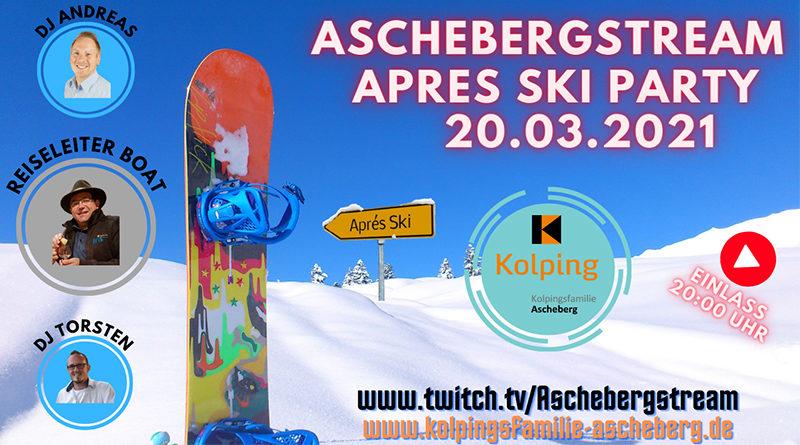 Virtuelle Ski-Party in Ascheberg