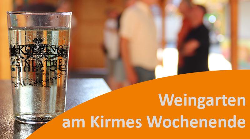 Weingarten vom 30.7.-1.8.